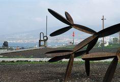 Correa + Estevez Arquitectura - Paseo Maritimo de Las Americas - Tenerife - Paisajismo Tenerife, Wind Turbine, Surfboard, Santa Cruz, Architectural Firm, Landscaping, Walks, Architects, Teneriffe