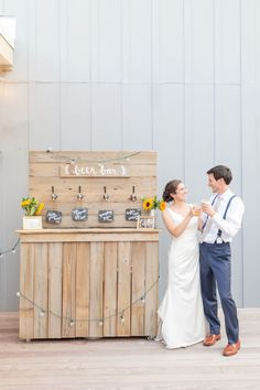 Beer bar for a casual country wedding. country wedding details Caleb & Jenny {Howard County Conservancy in Woodstock, MD} Beer Wedding, Farm Wedding, Wedding Reception, Budget Wedding, Wedding Cake, Wedding Gifts, Casual Country Wedding, Barn Wedding Decorations, Affordable Wedding Venues