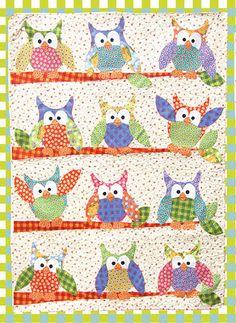 free owl quilt block pattern - Google Search | Sewing | Pinterest ... : owl applique quilt pattern - Adamdwight.com
