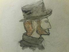 #gentleman #steampunk  #draw