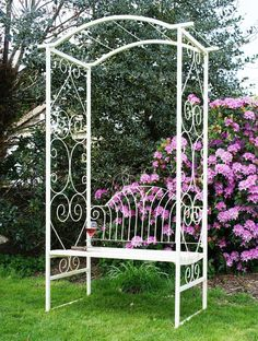 """Adalyn Summer"" Garden Arbour Bench | Black Country Metal Works"