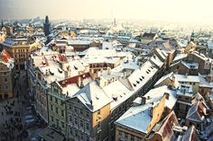 11 Magical Winter Cities via @domainehome