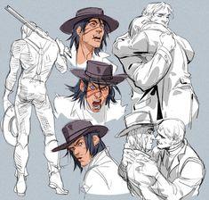 Red Dead Redemption 1, John Marston, Character Art, Character Design, Rdr 2, Anime Friendship, Gay Art, Memes, Cool Art