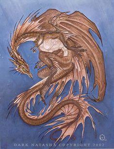 The Art of Dark Natasha - Leviathan