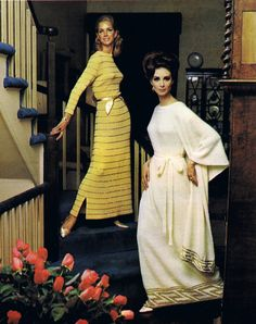 Vintage Knit Patterns Glittering Evening Gowns Bead Tailored Suits Dresses Coats & Ensembles