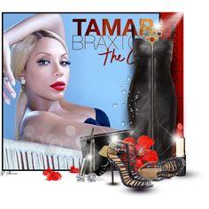 Tamar Braxton, created by gaburrus on Polyvore