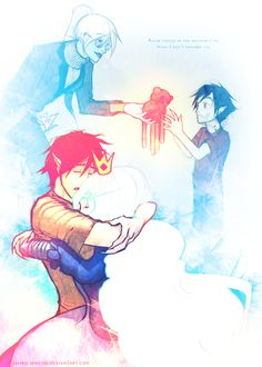 Marshall Lee and the Ice queen