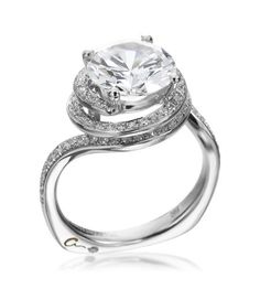 A. Jaffe Double Spiral Solitaire Ring [ the one i want ;) ]