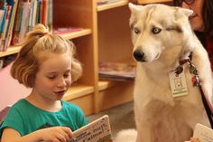 Paws n Books at Cornwall Public Library