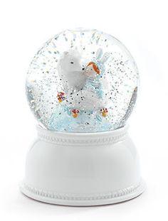 Djeco Glitter Globe Night Light - Lila & Pupi
