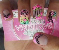 Makeup, Work Nails, Short Nails, Nail Art, Hands, Roses, Mandalas, Make Up, Beauty Makeup