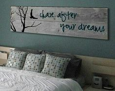 Barn Wood crafts - If you can DREAM it, You can DO it Walt Disney Inspirational Quote on Reclaimed Barn Wood Wall Art Bedroom Decor, Wall Decor, Bedroom Wall, Diy Holz, Reclaimed Barn Wood, Rustic Wood Signs, Rustic Decor, Home And Deco, My New Room