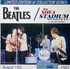 The Beatles (Live Shea Stadium 1965) LTD CD ~ Northern Songs Unlimited Records, http://www.amazon.com/dp/B0049M981W/ref=cm_sw_r_pi_dp_To8itb03H89TH