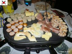 Now this is how to properly utilize your Raclette grill! Oh yes.