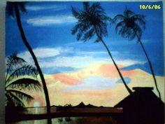 Tahitian Sunset. Jeremy Backlin 2001