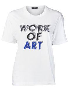 MARKUS LUPFER 'Work Of Art' Sequin T-Shirt
