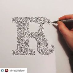 Wishing a big HAPPY BIRTHDAY to /trinetollefsen/- the brilliant designer behind… Vinyl fabric Lettering started Happy Birthday Caligraphy, Happy Birthday Writing, Happy Birthday Typography, Hand Lettering Alphabet, Doodle Lettering, Creative Lettering, Brush Lettering, Doodles, Birthday Cards