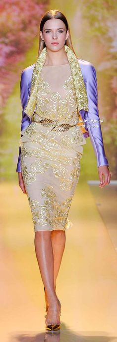 Zuhair Murad Spring 2014 Haute Couture Fashion and Designer Style Zuhair Murad, Couture Fashion, Runway Fashion, High Fashion, Womens Fashion, Paris Fashion, Beautiful Gowns, Beautiful Outfits, Cool Outfits