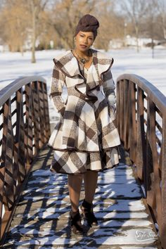 Who said you can't slay on a cold winter day?  You don't have to look frumpy and bundled up…here's how you kick the winter blues.  This outfit will make you excited when the temperatures drop! I purchased this outfit from my favorite boutique Ooh La La Boutique & Spa in Gurnee, IL.  Headwrap is from (Amazon.com $3.99).  Suede booties are from the clearance rack at (BCBG $22.99)! Boutique Spa, Winter Day, Suede Booties, Head Wraps, Slay, Blues, Kicks, That Look, Booty