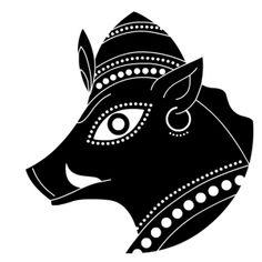 nina paley's dasavatara - varaha, the boar