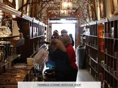 Twinings Strand Shop, London 1706.