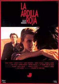 """""""La ardilla roja"""" (Julio Medem, 1993) con Emma Suarez, Nancho Novo y María Barranco."""