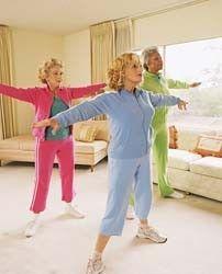 Senior citizen exercises