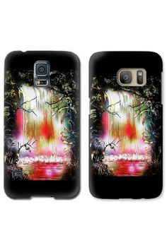 Dream Waterfall by Nandor Molnar Iphone Phone Cases, Spray Painting, Waterfall, Fine Art, Prints, I Phone Cases, Waterfalls, Rain, Visual Arts