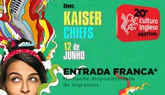 [HipsterMob~] Show do Kaiser Chiefs em SP por 5 temers