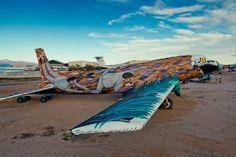 Projeto Boneyard: Cemitério artístico de aviões antigos