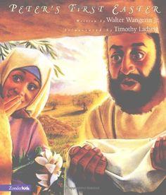 Peter's First Easter by Walter, Jr. Wangerin http://www.amazon.com/dp/0310222176/ref=cm_sw_r_pi_dp_pLP9tb0MRP32B