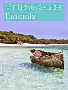 Mini Travel Guide: Tanzania
