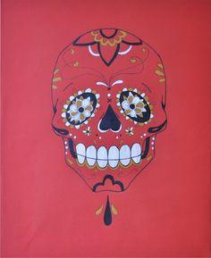 pink sugar skull - Google Search