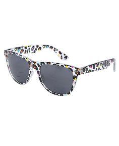 Multicolor Leopard Sunglasses - Sunglasses & Eyewear