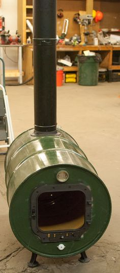 Picture of Build barrel stove