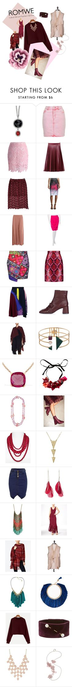 """""""burgundy base"""" by tess-jr ❤ liked on Polyvore featuring Topshop, Chicwish, WithChic, Carolina Herrera, Boohoo, Chanel, Jaded, Mary Katrantzou, Peter Pilotto and Burberry"""