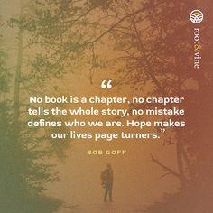 Reasons to Hope from Bob Goff #reasonstohope #bookofhope #rootandvine