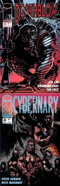Deathblow / Cybernary (Image, 1993) #3