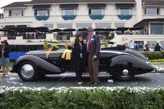 2016 Pebble Beach Concours d'Elegance Best in Show winner, 1936 Lancia Astura…
