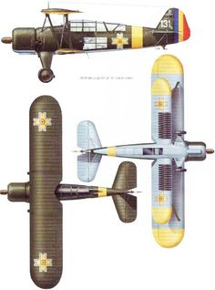Luftwaffe, Ww2 Aircraft, Military Aircraft, Aviation Art, Cutaway, Romania, Airplane, Air Force, Wings