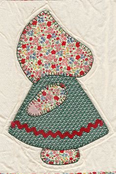 Granny taught me to quilt. We made a Dutch doll quilt just like this together the summer after I graduated high school.
