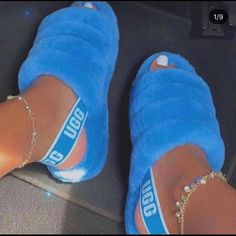 Jordan Shoes Girls, Girls Shoes, Cute Uggs, Fluffy Shoes, Ugg Sandals, Ugg Slippers, Bedroom Slippers, Aesthetic Shoes, Fresh Shoes