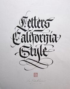 LUCA BARCELONA - LETTERS CALIFORNIA STYLE - ARTSTÜBLI http://www.widewalls.ch/artwork/luca-barcellona/letters-california-style/ #painting