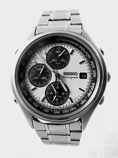 A cool Vintage Seiko Chronograph in the desired daytona style only at IronCrowVintage on Etsy