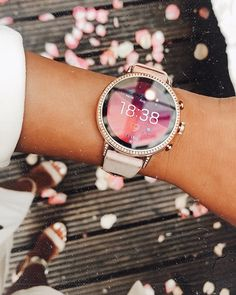 fc402ff8df9 Gen 4 Smartwatch - Venture HR Blush Leather