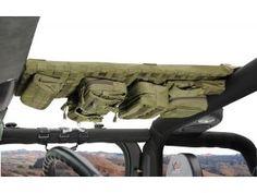 Smittybilt G.E.A.R. Overhead Console for 07-15 Jeep® Wrangler & Wrangler Unlimited JK