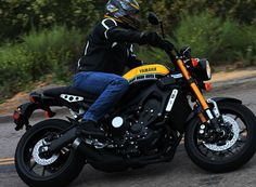 2016 Yamaha XSR900 Review First Ride, Full Specs