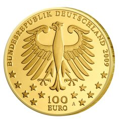 Goldmünze GOLDMARK 1DM Gold 2001 Deutsche Bundesbank A