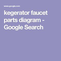 kegerator faucet parts diagram - Google Search