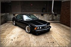 BMW 635CSi photo by Mike Burroughs from Flickr at Lurvely